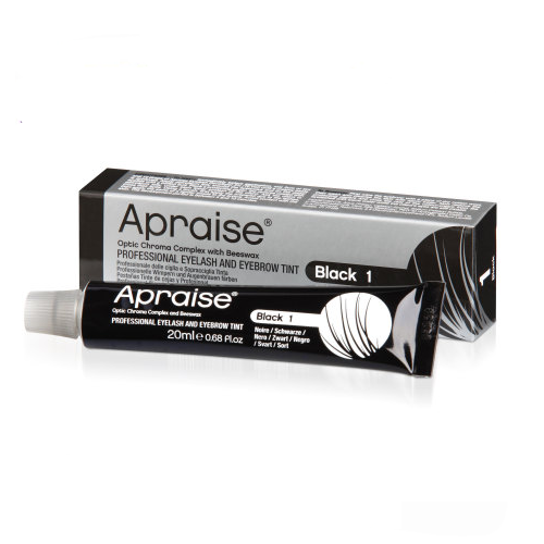 Apraise Black Eyelash and Eyebrow Tint - 20ml