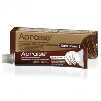 Apraise Dark Brown Eyelash and Eyebrow Tint - 20ml