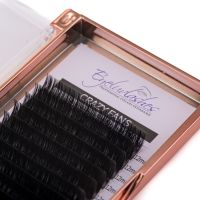 CRAZY FANS Eyelash Extension Tray (SET LENGTH) Easy Fans 12 Lines
