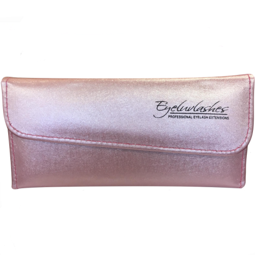 Tweezer Case Soft Faux Leather for Eyelash Extensions (holds 6 tweezers)
