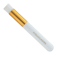 Brushes - White/Gold Deluxe Lash Cleanser brushes (£2.95 each or £9.75 for 5)