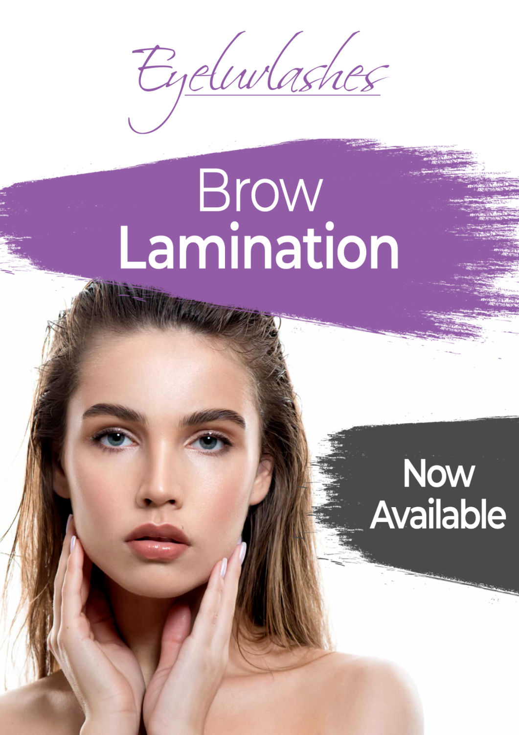 Poster - Brow Lamination Advertising A3 SIZE