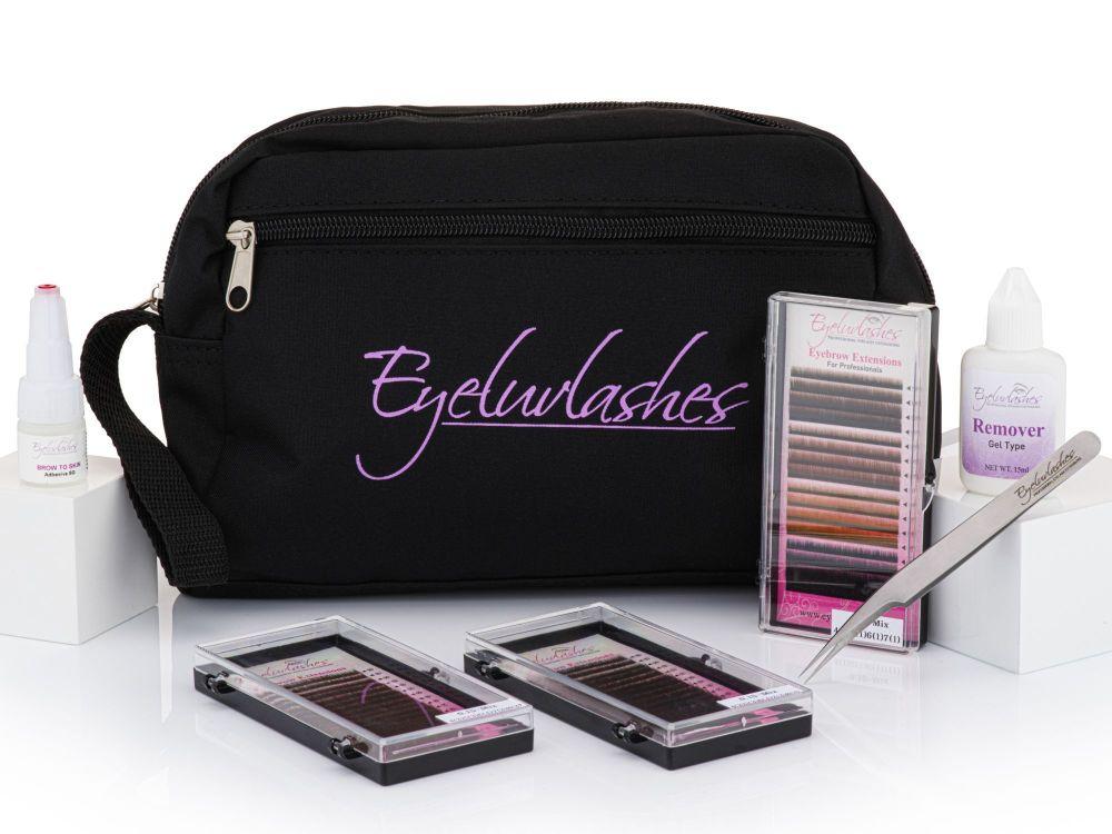 Eyebrow Extension Training Kit - Set 1