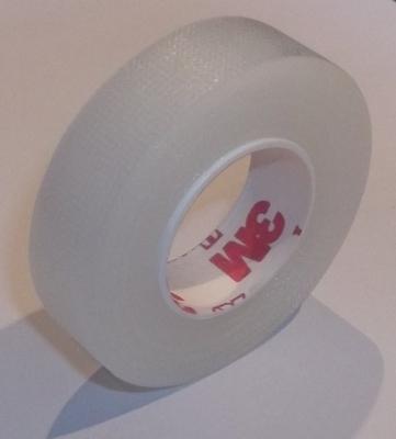 5 ROLLS 3M PLASTIC TAPE (1.25CM WIDTH x 9 METRES)