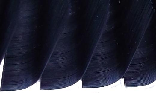 L Curl silk