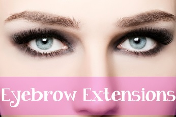 eyebrow extensions picture