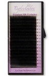 B Curl 0.05 Thickness / 12mm Length Silk Individual Eyelash Tray (Volume Lashes)