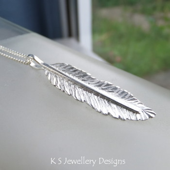 Feather pendant 5