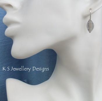 Leaf earrings 1