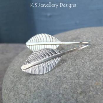 Leaf earrings 4