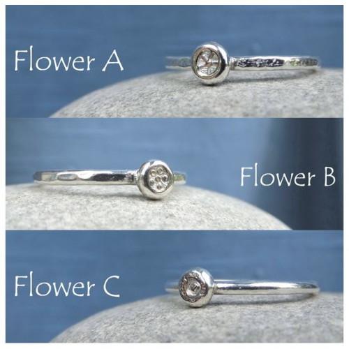 flower dot montage