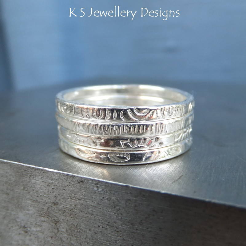 textured stacking rings 3