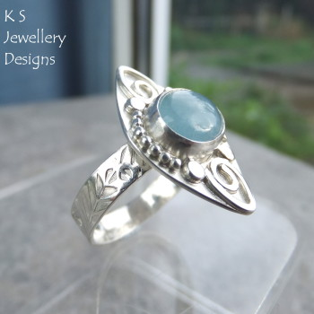 Aquamarine ring 3