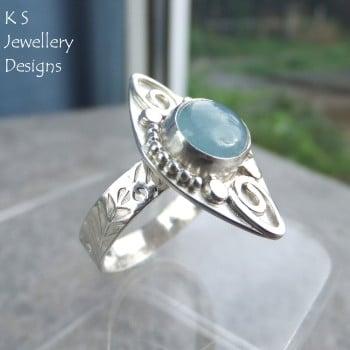 Aquamarine ring 3