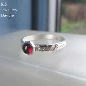 garnet wreath ring 2