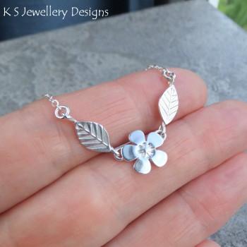 cherry blossom necklace 3