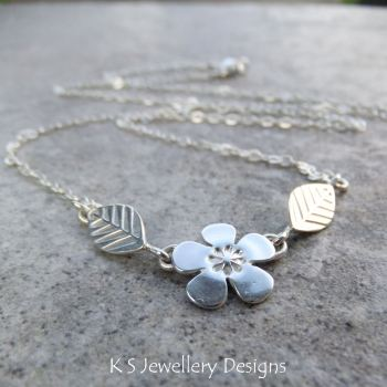cherry blossom necklace 5