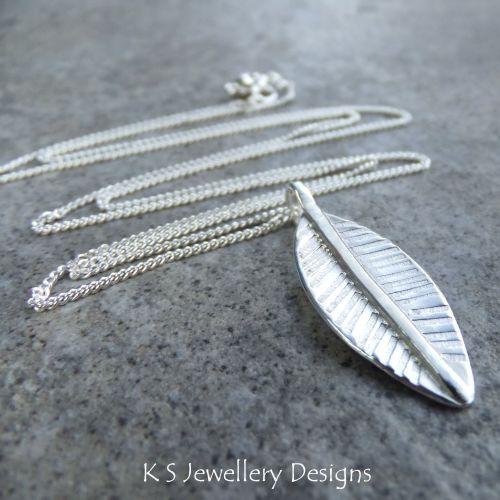 Little Leaf Sterling Silver Pendant