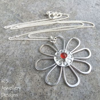 Carnelian daisy 5
