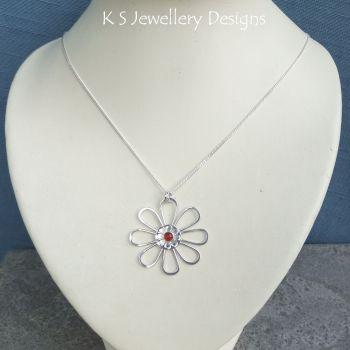 Carnelian daisy 3