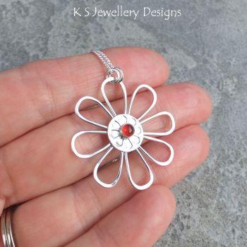 Carnelian daisy 4
