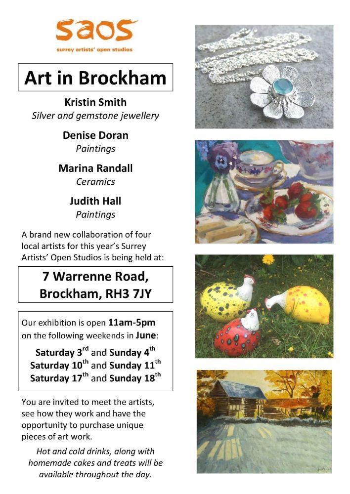 Art in Brockham leaflet 2017