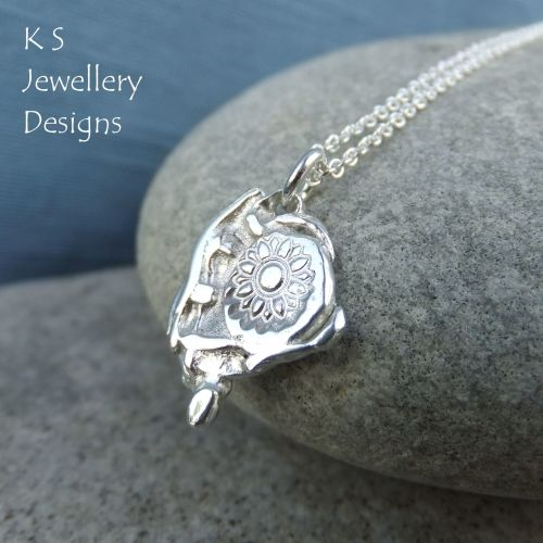 Hidden Treasure Sterling Silver Pendant
