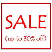 SALE (up to 30% off)