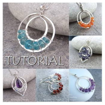LACE UPS - Wirework Jewellery Tutorial (e-mailed PDF download)