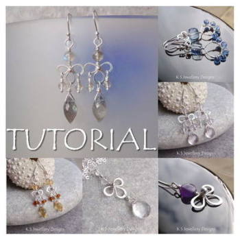 WIRE BLOSSOMS - Wirework Jewellery Tutorial (e-mailed PDF download)
