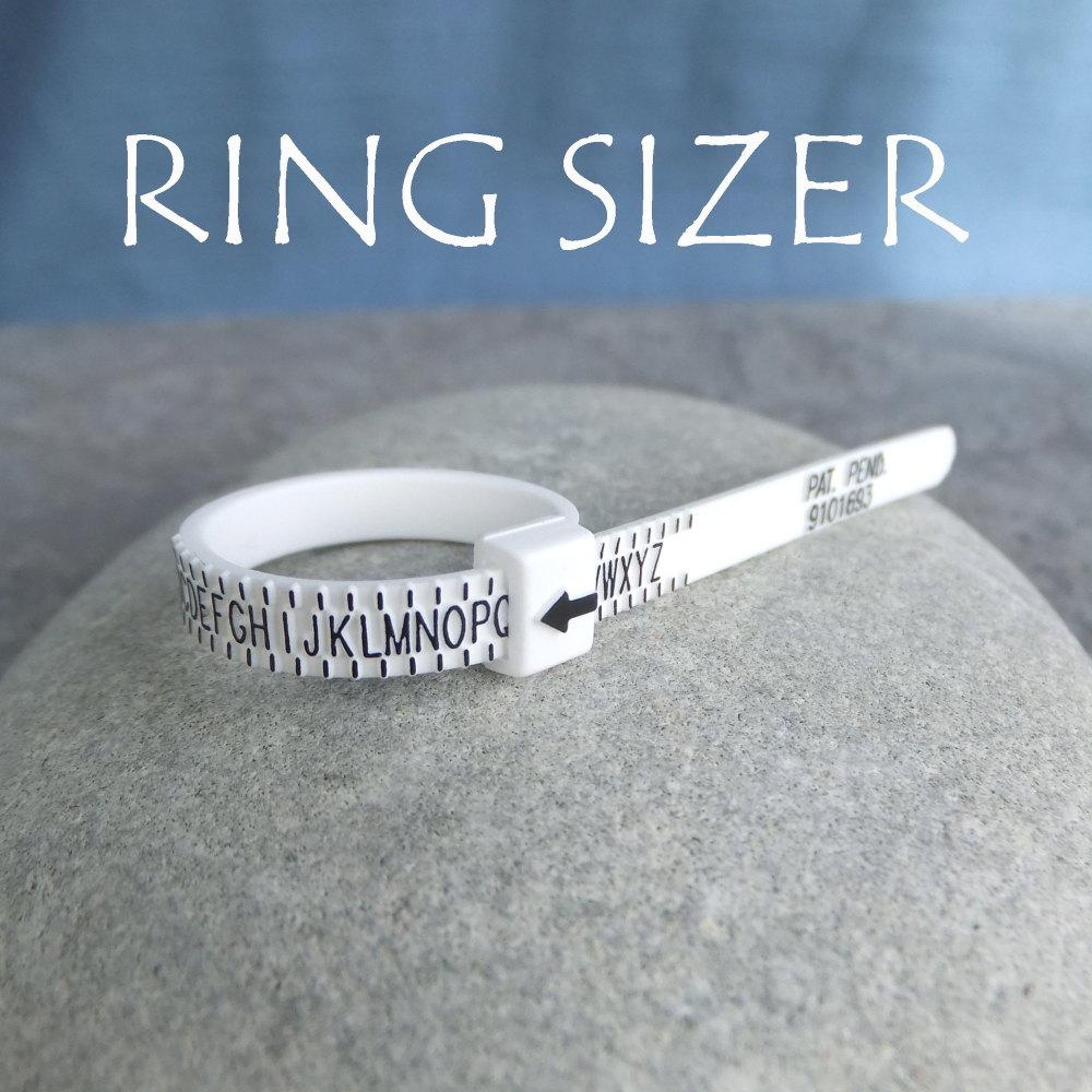 * Ring sizer - Finger sizer - Gauge - Measurer