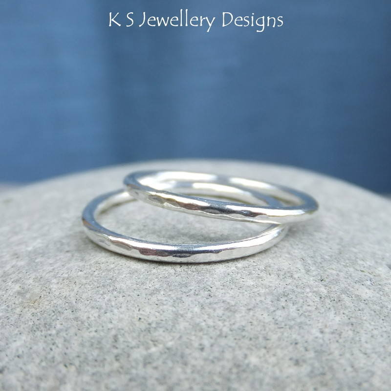 Dappled stacking ring 2