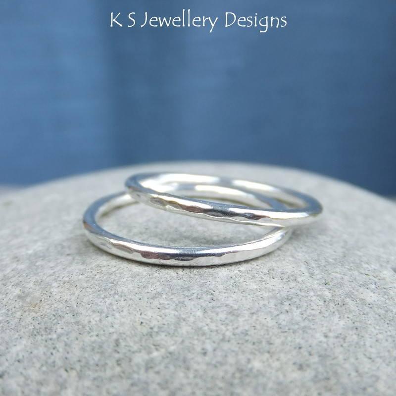 Dappled stacking ring 2