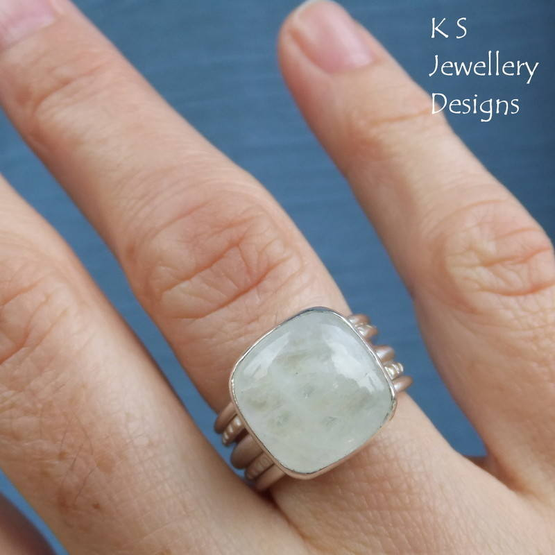 moonstone square ring 8