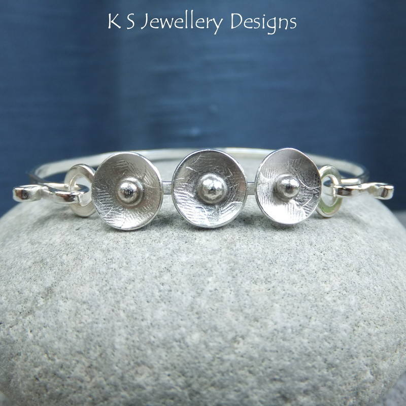 Rustic Disc Bangle 1