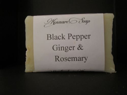Black Pepper, Ginger & Rosemary