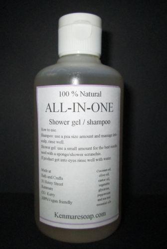 All-In-One Shampoo & Shower Gel