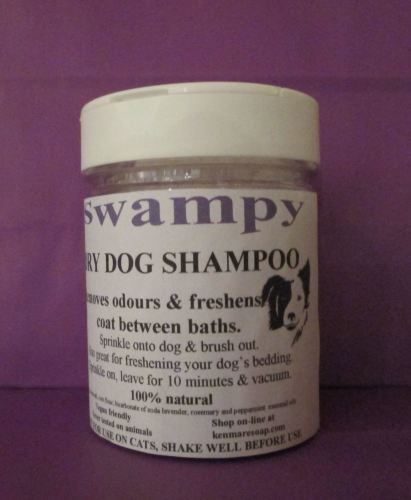 Dry Dog Shampoo/Bedding Freshener