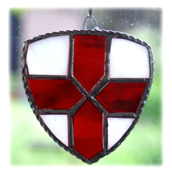 RED England Shield 001 #1405 FREE 10.00