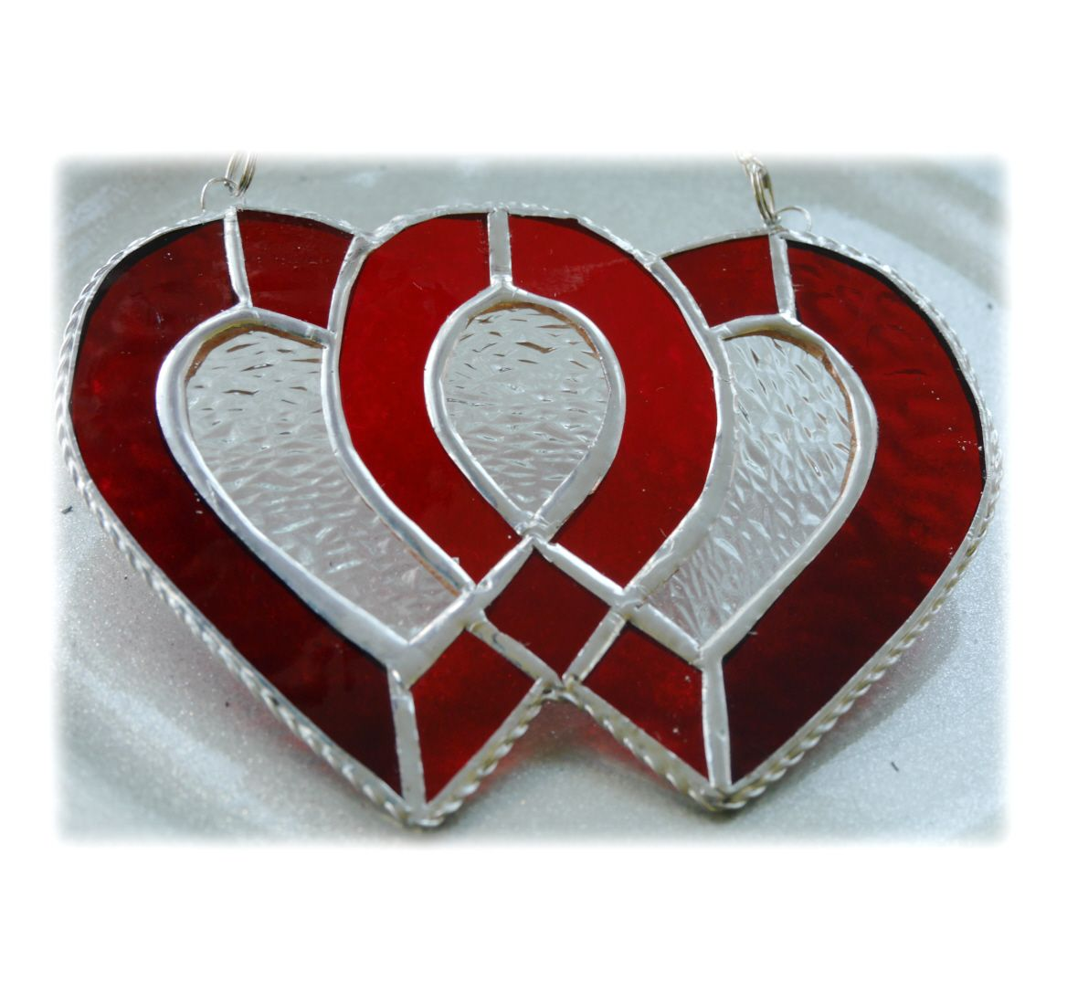 RED Entwined Heart 012 Red #1809 FREE 22.50