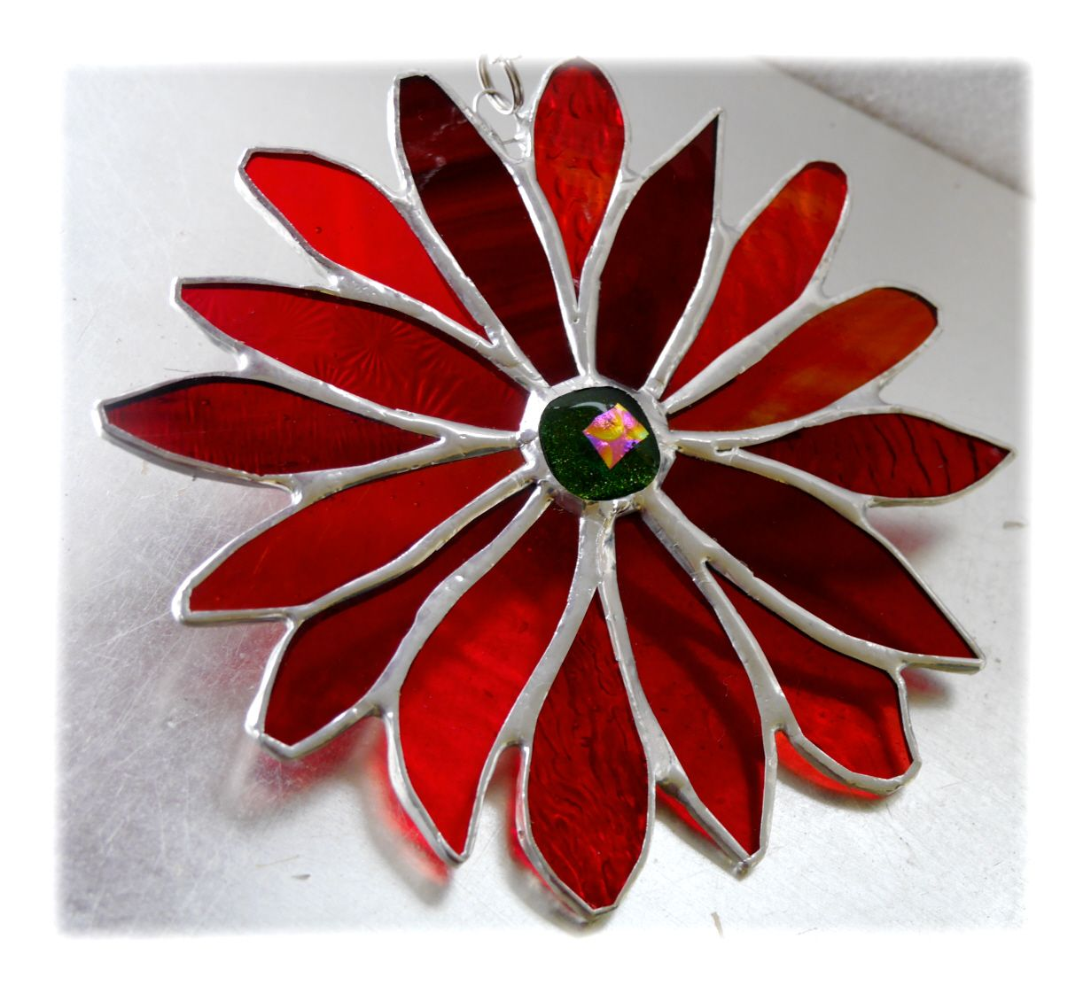 RED Fire Flower 001 #1904 FREE 17.50