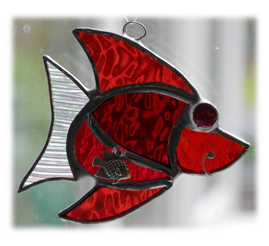 RED Little Fish 003 Red #1705 FREE 9.00
