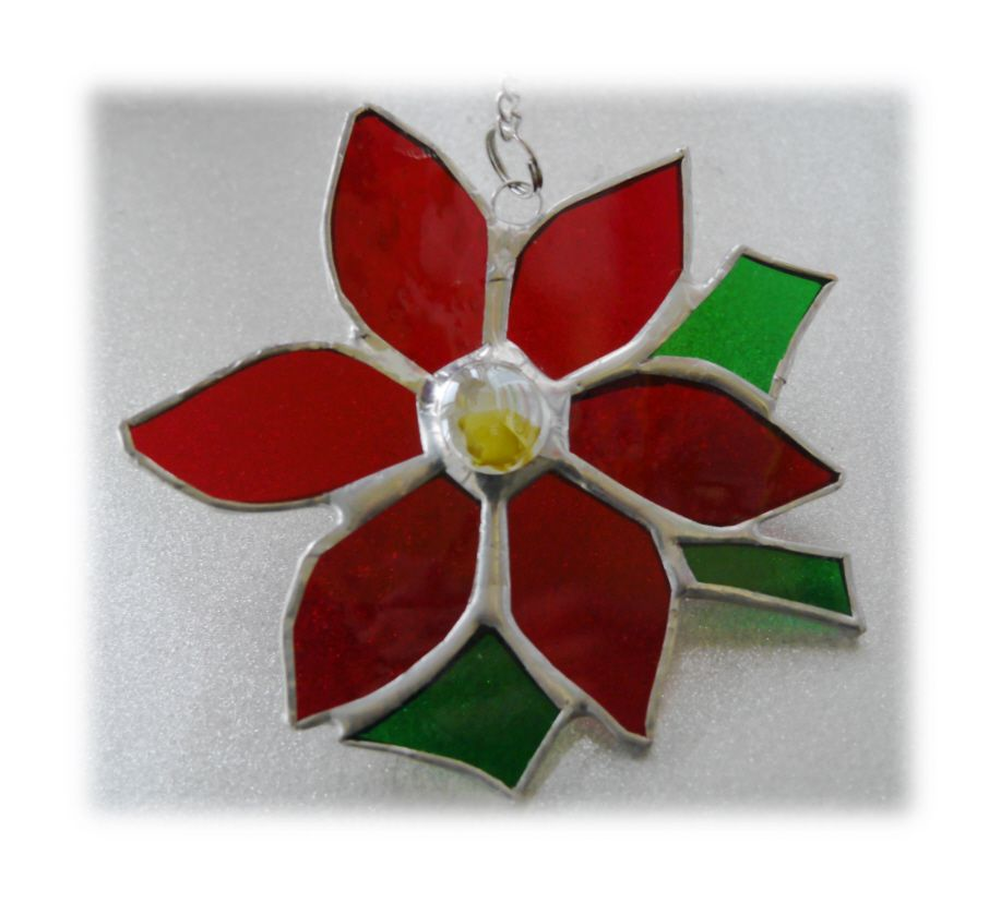 RED Poinsetta 012 #1809 FREE 13.00