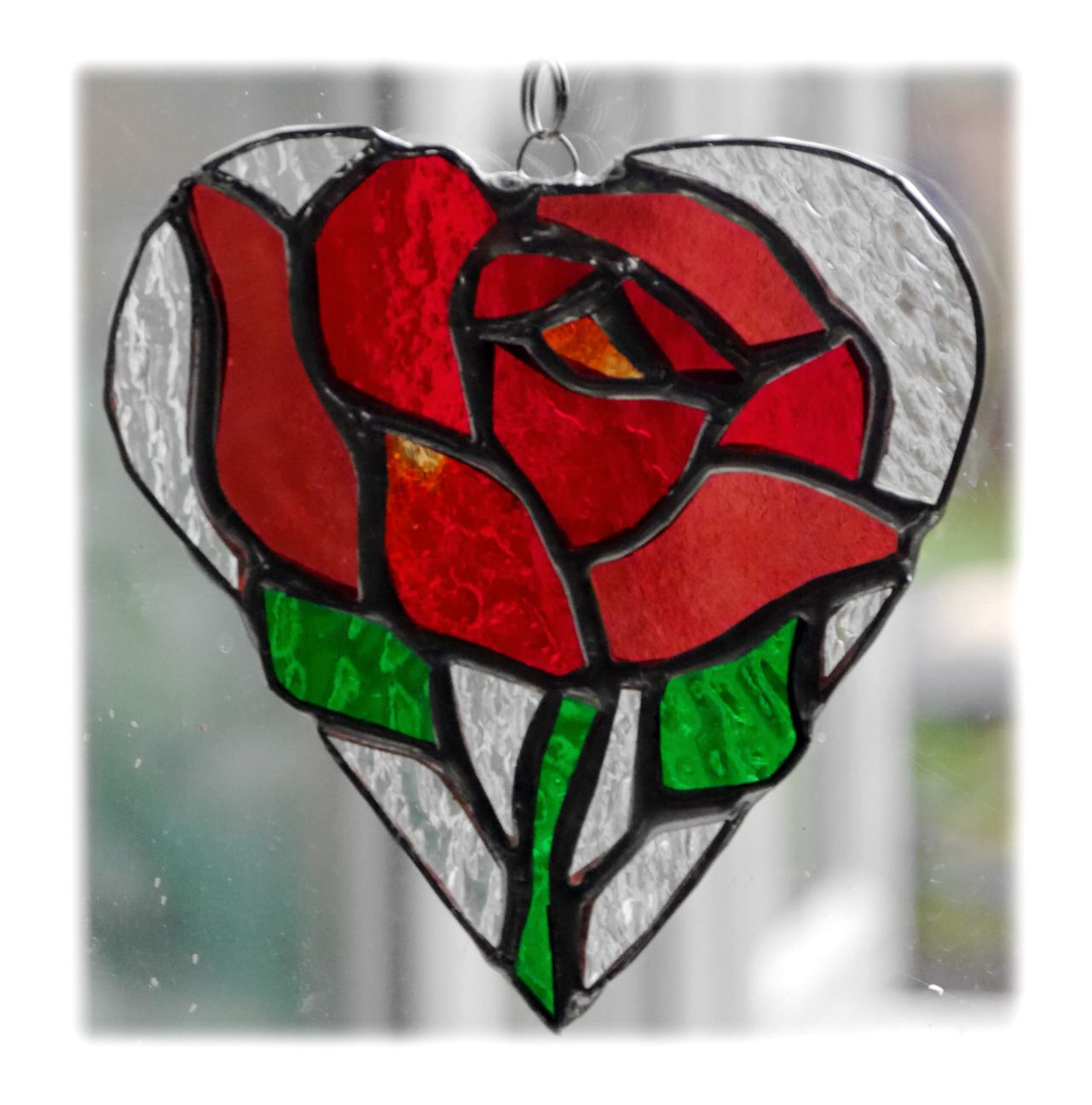 RED Rose full Heart 017 #1901 FREE 16.00