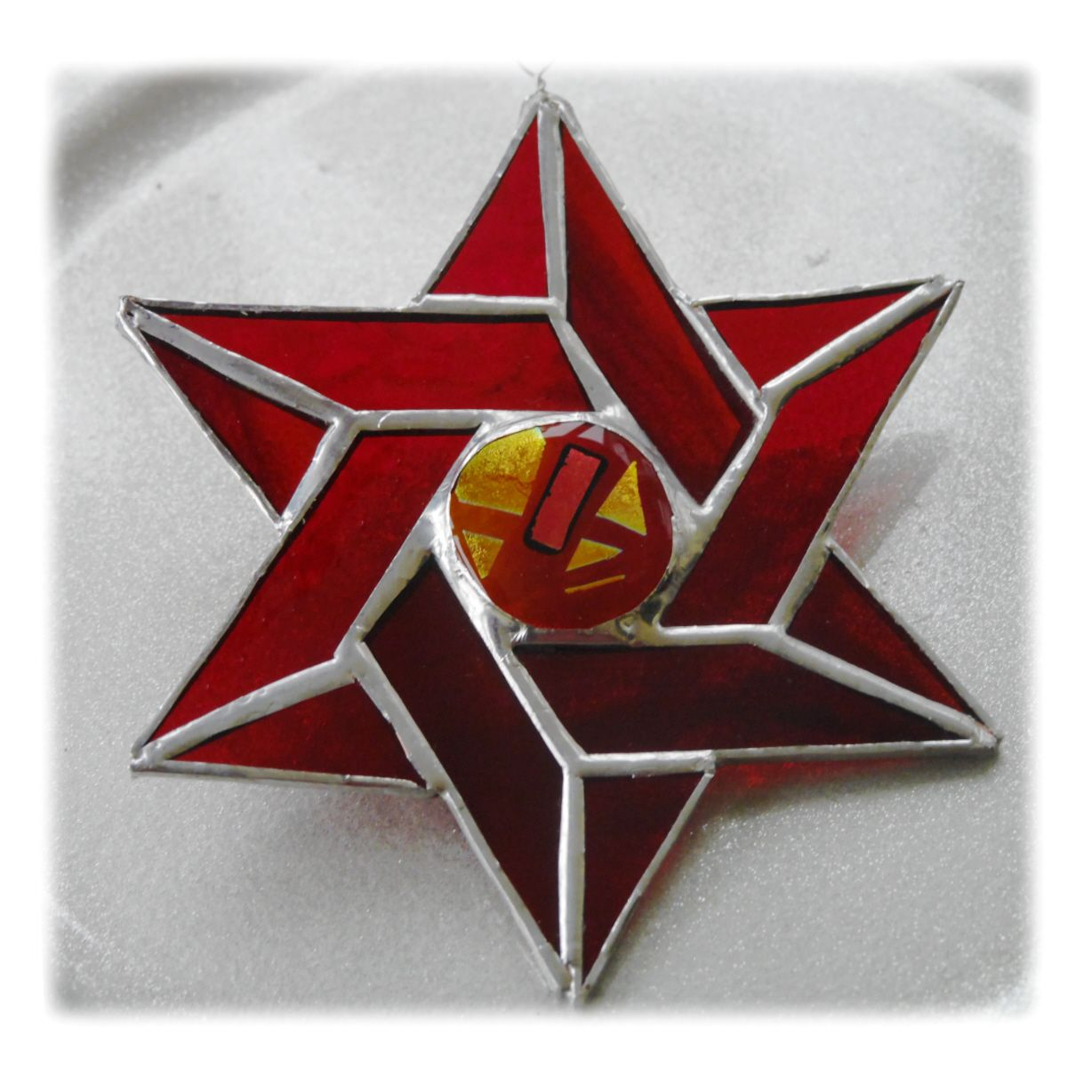 RED Star of David 020 Red #1810 FREE 16.00