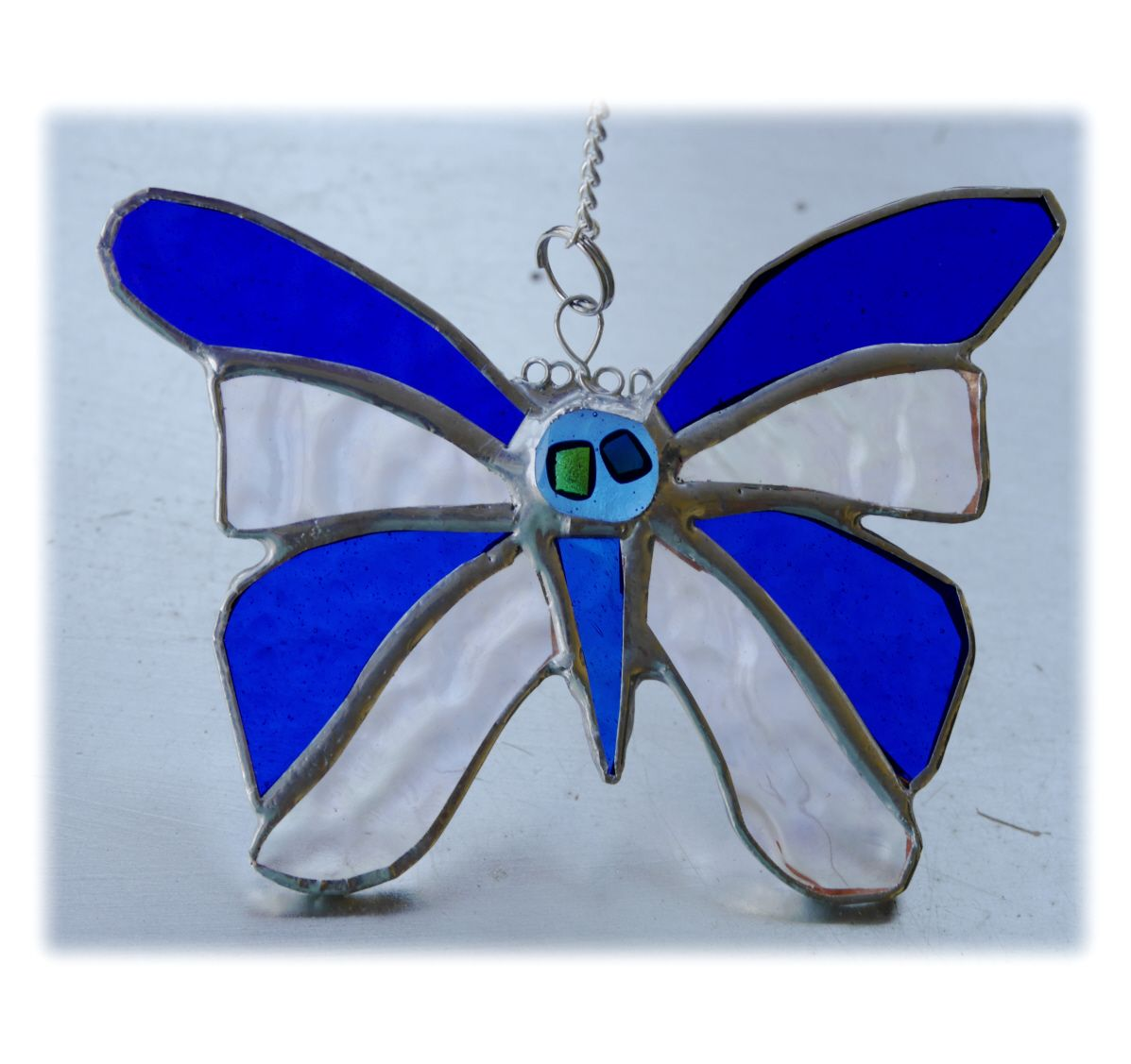 BLUE Birthstone Butterfly 046 Sapphire Sep #1807 FREE 13.00