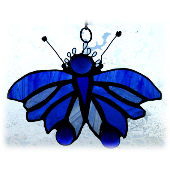 BLUE Butterfly Bauble 018 FREE 14.50