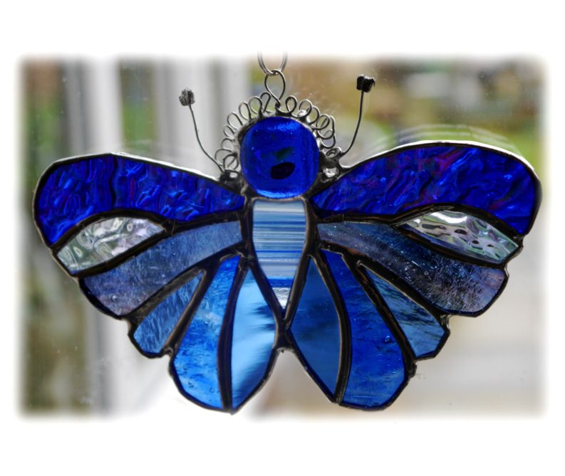 BLUE Butterfly Full 074 Blue  #1601 FREE 14.50