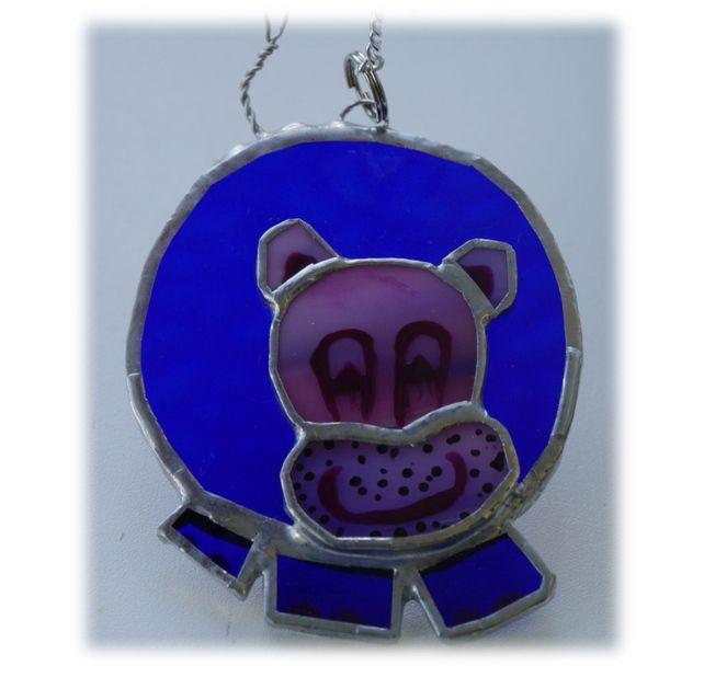 BLUE Hippo 003 #1707 blue FREE 13.00