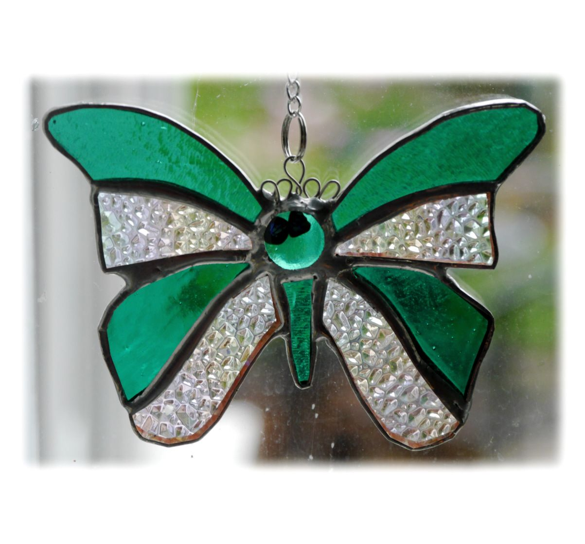 GREEN Birthstone Butterfly 055 Emerald May #1905 FREE 13.00